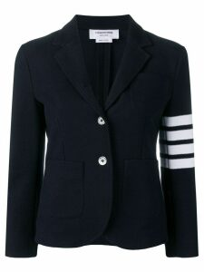 Thom Browne 4-Bar Stripe Navy Sport Coat - Blue