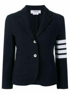 Thom Browne 4-Bar Stripe Navy Sport Coat - Blue