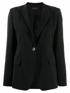 Max Mara Studio crepe blazer - Black