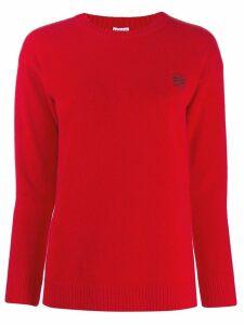 Loewe crew neck jumper - Red