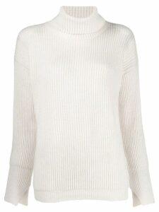Liska ribbed jumper - White