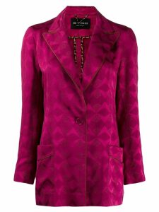 Etro patterned jacquard blazer - Pink