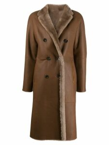 Liska Rinita reversible coat - Brown