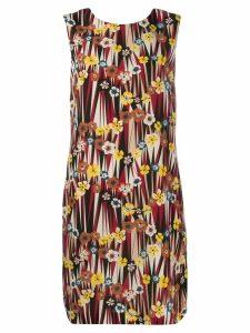M Missoni printed shift dress - Red