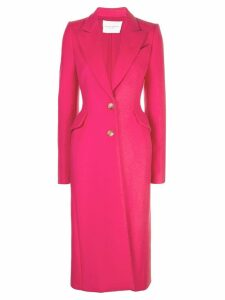 Carolina Herrera single-breasted coat - Pink