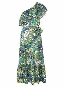 A.L.C. printed Janelle dress - Blue