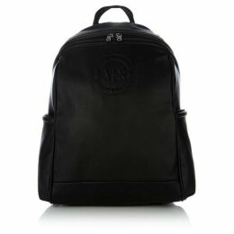 Armani Exchange Embossed Logo Soft PU Backpack
