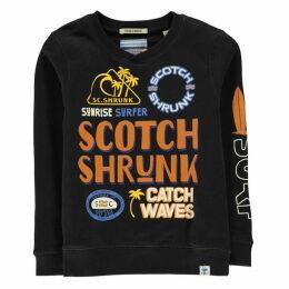 Scotch and Soda Shrunk Crew Sweatshirt