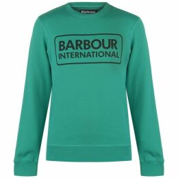 Barbour International Large Logo Sweater Mens