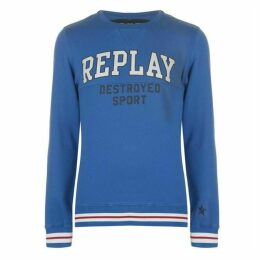 Replay Broken Logo Sweater