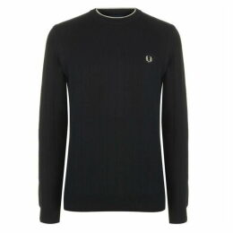 Fred Perry Fred Mens Crew Jumper