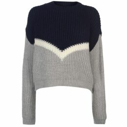 SoulCal Deluxe Colour Block Knitted Jumper