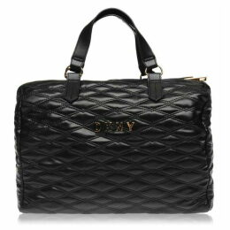 DKNY Small Quilted Barrel Bag