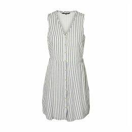 Coco Striped Short Sleeveless Dress