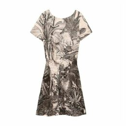 Papillone Printed Dress