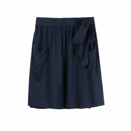 Short Wrapover Skirt