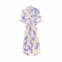 Printed Short-Sleeved Dress