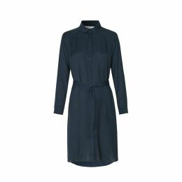 Rissa Belted Shirt Dress