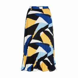 Multi-Coloured Sunray Pleat Skirt