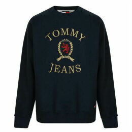 Tommy Jeans Logo Crew Sweatshirt