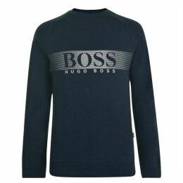 BOSS BODYWEAR Logo Crew Sweatshirt