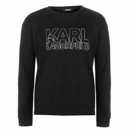 Karl Lagerfeld Large Word Sweatshirt