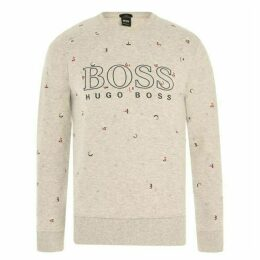 Boss Hugo Salbo Logo Sweatshirt Mens