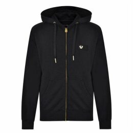 True Religion Logo Hooded Sweatshirt