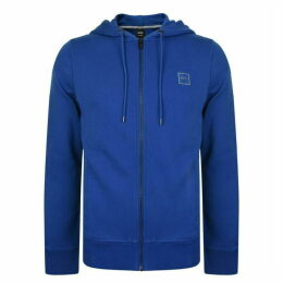BOSS French Terry Zip Hooded Sweatshirt