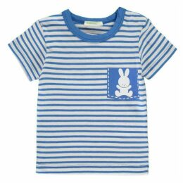 Benetton Stripe Bunny T Shirt