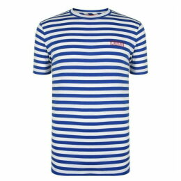 Hugo Striped Short Sleeve T Shirt