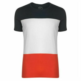 Jack and Jones Jack Colour Block T Shirt Mens