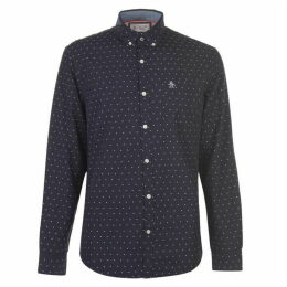 Original Penguin Original Long Sleeve Star Print Shirt