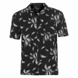 Religion Mens All Over Wing Print Shirt