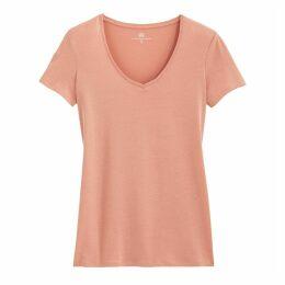 Organic Cotton V-Neck Short-Sleeved T-Shirt