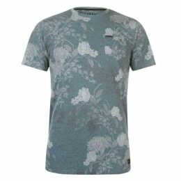Firetrap Blackseal Floral T Shirt