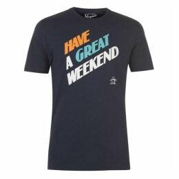Original Penguin Original Short Sleeve Great Weekend T Shirt