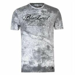 Firetrap Blackseal London Map T Shirt