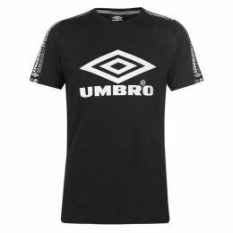 Umbro Taped Crew Neck Neck T Shirt