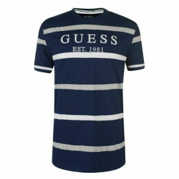 Guess Emmet Stripe T Shirt