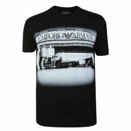 EMPORIO ARMANI Luggage T Shirt