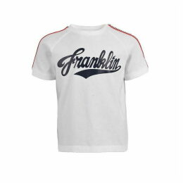 Franklin and Marshall Taped T Shirt