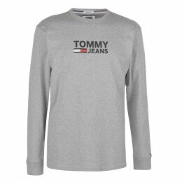 Tommy Jeans Corporate Long Sleeve T Shirt