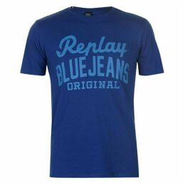 Replay Blue Jeans T Shirt