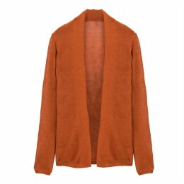 Fine Knit Open Cardigan