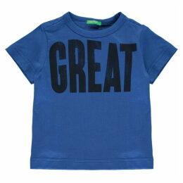 Benetton Great Print T Shirt
