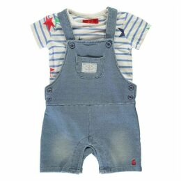 Joules Dungaree T Shirt Set