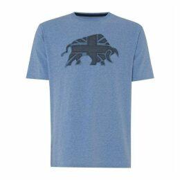 Raging Bull Union Jack T Shirt