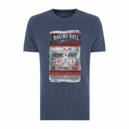 Raging Bull Distress Scoreboard T Shirt