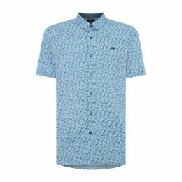 Raging Bull Short Sleeve Floral Print Shirt